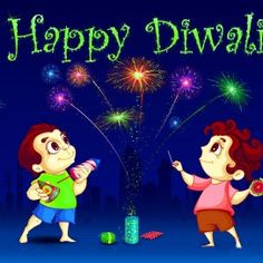 Happy Diwali Wallpaper With Crackers