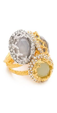 Alexis Bittar ring. Love this.