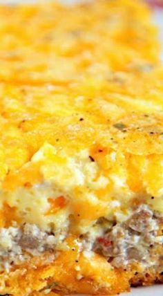 Sausage and Cream Cheese Breakfast Casserole.... maybe try with fathead dough for the crust??