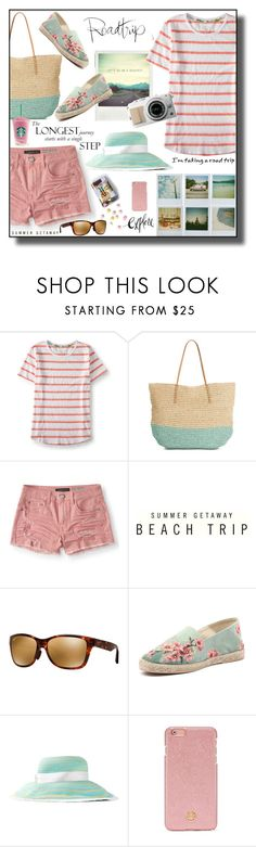 """Road Trip"" by daiscat ❤ liked on Polyvore featuring Aéropostale, Abercrombie & Fitch, Maui Jim, Polaroid, Missoni and Tory Burch"