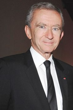 Bernard Arnault (France) -  Chairman and CEO, Louis Vuitton, Successful people, Entrepreneur, Business, #success, #business, #startup, #leadership, #entrepreneur  www.thinkruptor.com