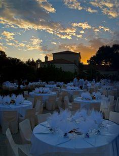 Amazing  wedding set up in Achaia Clauss, Greece !!!
