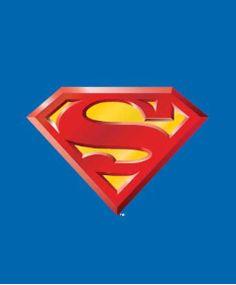 Superman Logo Korean Mink Queen Blanket