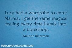 .I love the word 'bookshop'..