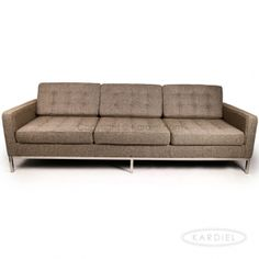 Oatmeal houndstooth twill  - i'll take this couch in every color!