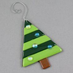 Christmas Tree Ornament Fused