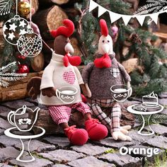 """Orange Toys """"Patrick the Rooster"""" Soft Spielzeug, 48cm"""