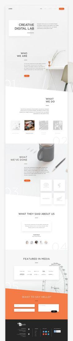Creative Digital Lab - #webdesign #inspiration