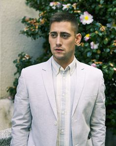 Well, hello there, Mr. Michael Socha, looking all dapper and broody