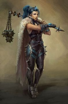 Female Water Genasi Barbarian, Bard (Valor), Cleric (Tempest, War, Death), Fighter, Ranger, Warlock (Pact of the Blade)