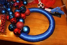 a day in the life: DIY: Ornament Wreath
