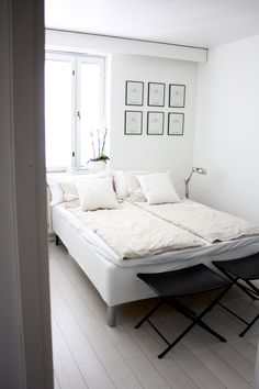 So fresh and so clean. Our J.F by Finlayson linen duvet covers || Puhdasta ja raikasta! Meidän J.F by Finlayson- pellavapussilakanasetit