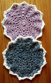 Ravelry: Hope316's Round ripple washcloth