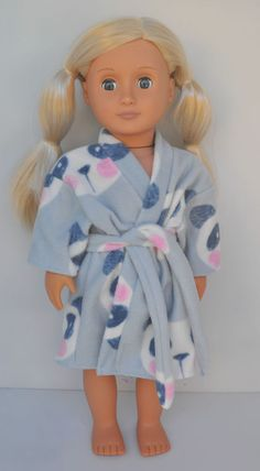 American Girl Doll Our Generation Journey Girl 18 Doll Clothes Winter Robe