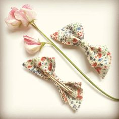 A Liberty print Phoebe hair clip for special little girls  #libertyprint #girlsaccessories #hairclip - Thanks to @gathersandbows! #libertygardenparty