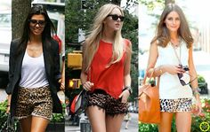 Look do Dia = Shorts de Onça