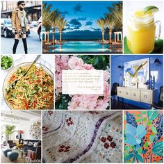 Sharing the Link Lovin' on the blog today travel style paintings and other pretties. #linklovin