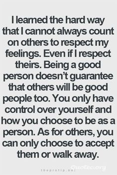 Accept Them Or Walk Away – Quote©