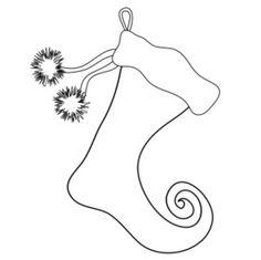 Black and White Christmas Gift Clip Art - Black and White Christmas Gift Image   Doodle ...