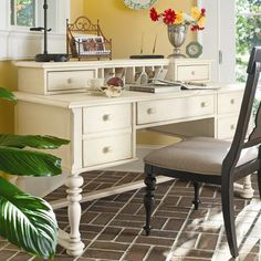 I pinned this Sweet Tea Writing Desk in Tobacco from the Paula Deen event at Joss and Main!