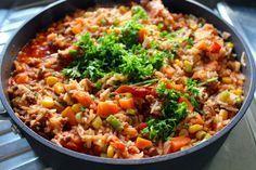 We hebben vandaag een lekker recept voor een gehaktpannetje met lente-ui en maïs voor jullie. Dit recept is ingezonden door Katrijn, van Kookdagboek Katrijn. We vinden het altijd super leuk als jullie