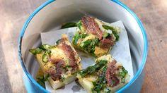 Tortilla mit grünem Spargel.   Bildquelle: NDR/ Matthias Haupt