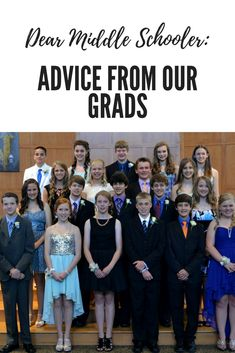 Advice for middle schoolers from our recent graduates.