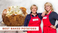 Test cook Elle Simone reveals the secrets to making the Best Baked Potatoes. ABOUT US: Located in Boston's Seaport District in the historic Innovation and Desig Best Baked Potato, Perfect Baked Potato, Baked Potatoes, Potato Side Dishes, Veggie Dishes, American Test Kitchen, Cooks Illustrated Recipes, Cooks Country Recipes, Cooking Tips