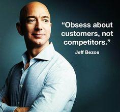 Obsess about customers not competitors. - @JeffBezos  #DigitalVK