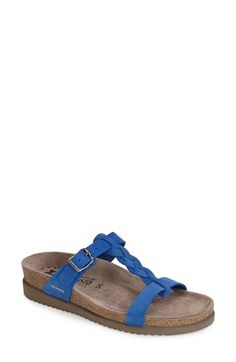 Mephisto 'Havana' Leather Slide Sandal (Women) available at #Nordstrom