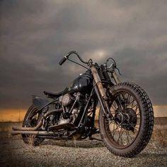"bikerkim62: ""Old school rules… "" Knucklehead #harleydavidsonchoppersvintage #harleydavidsonchoppersoldschool"