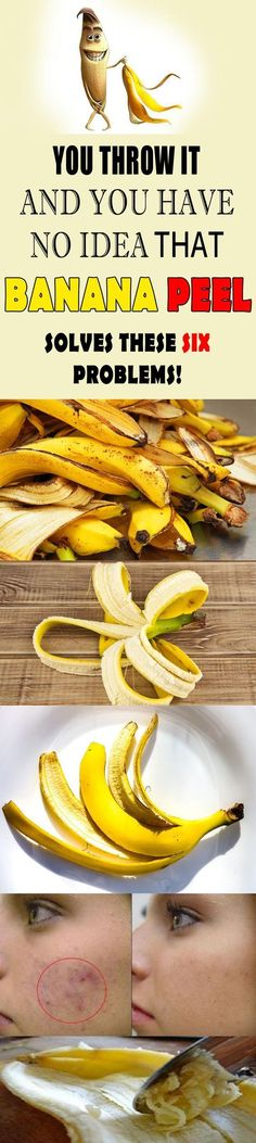 Find you the secrets of banana peels and why you should not throw them. #bannanas #health