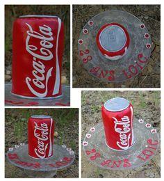 Gâteau canette Coca-Cola