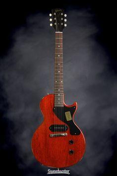 Gibson Custom 1957 Les Paul Junior Single Cut - Faded Cherry | Sweetwater.com