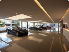 luxury car showroom - Google Search