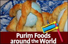 Purim Foods around the World