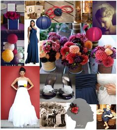 September Wedding Color Combinations | Marineu2026 And Breathe | Weddingbee
