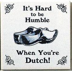 Dutch Culture Fridge Tile (Humble Dutch)