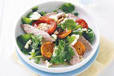 Lamb, sweet potato and fetta salad
