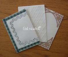 A Passion For Cards:Using dies on envelopes