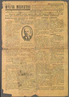 Mç̆ita Muruʒxi'nin orjinal 1. sayısı [Lazi], 1929