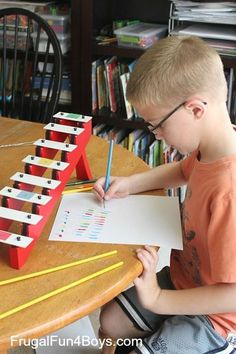 Composing Music with Math: Activity for Kids-probably NOT a HS activity, but still cool! (How could this be adapted for higher level learners?)