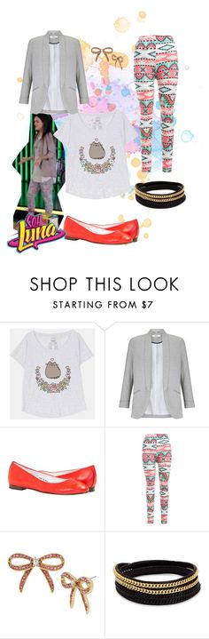 """""""soy luna"""" by maria-cmxiv on Polyvore featuring Pusheen, Miss Selfridge, Betsey Johnson and Vita Fede"""