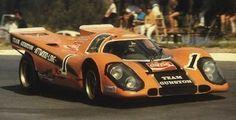 John Love / Richard Attwood - Porsche 917 - Team Gunston - The Thirteenth Rand Daily Mail Nine Hour Endurance Race - Kyalami 9 Hours - 1970 Shell Drivers Cup, round 1 Ferdinand Porsche, Sports Car Racing, Sport Cars, Auto Racing, Real Racing, Road Race Car, Race Cars, Supercars, Steve Mcqueen