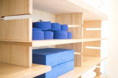 Stretch Yoga Studio — Furniss & May Yoga Studio Design, Plywood, Hospitality, Signage, Shelving, Stretches, Reception, Retail, Home Decor