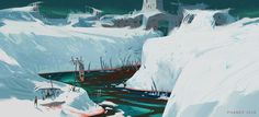 ArtStation - The Calderim's River of the Dead, Andrew Porter