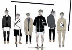 Fashion Sketchbook - fashion illustrations; fashion portfolio // Annie Mckie