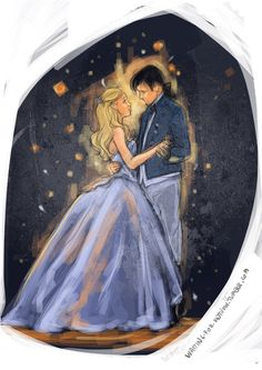 I just love this Captain Swan art!