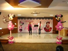 Minnie theme balloon decoration Balloon Decorations, Bubbles, Balloons, Balloon, Vw Beetles, Hot Air Balloons