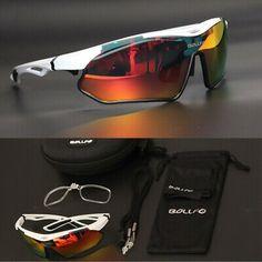 HOT Men Cycling Bicycle Bike Sports Driving Fishing Sunglasses Glasses UV 22M